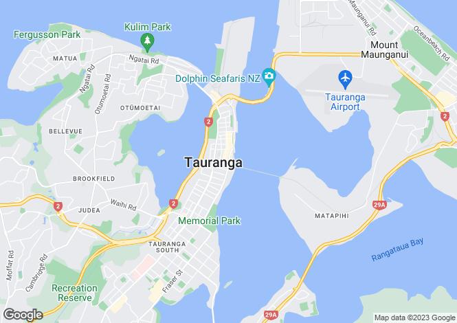 Map for Bay of Plenty