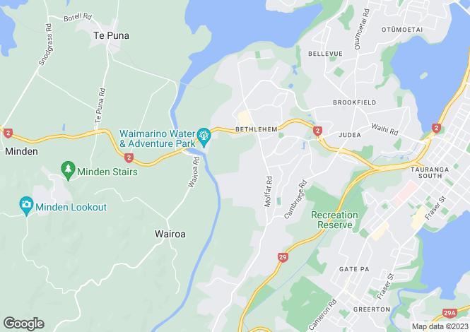 Map for 15/19 Glencarron Place, Bethlehem 3110