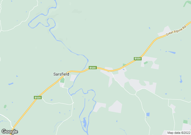 Map for 45 School Road, SARSFIELD 3875