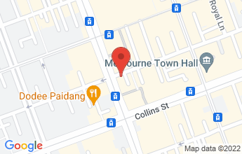 Map of Melbourne CBD 3000