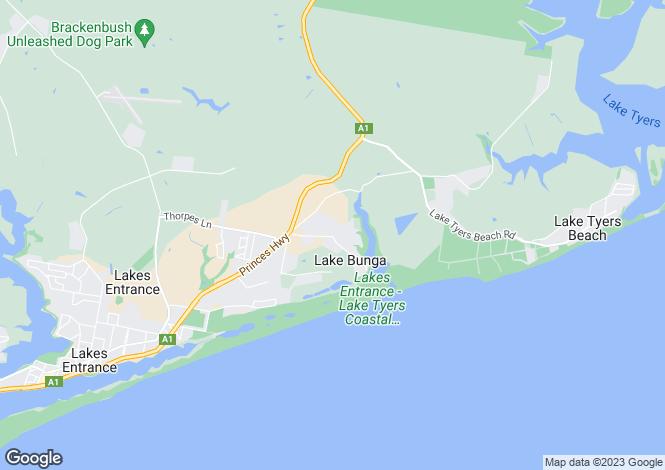 Map for Lot 75/133 Gold Ring Road, LAKE BUNGA 3909