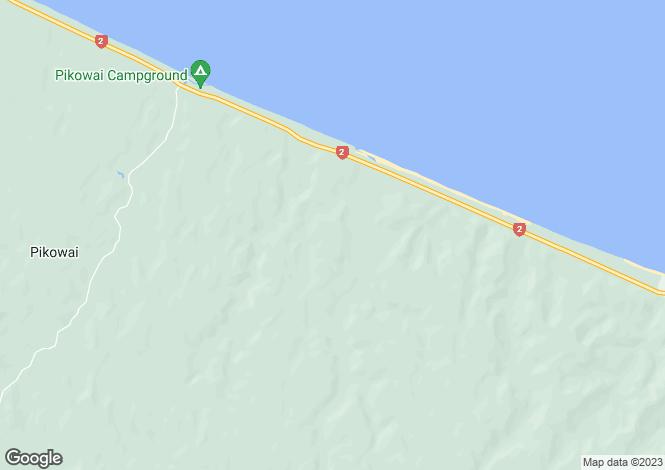 Map for Bay of Plenty, Whakatane