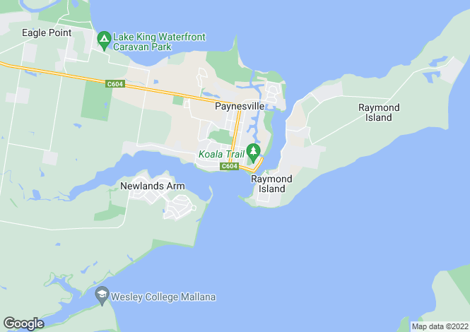Map for 18 Heaths View, PAYNESVILLE 3880