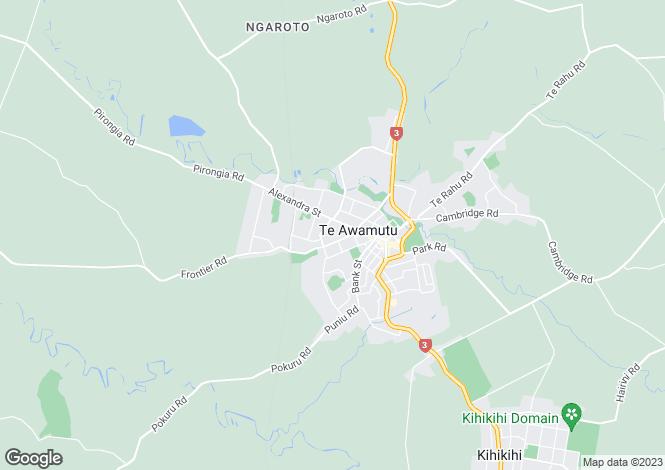Map for Lot 52 Oak Ridge, Te Awamutu 3800