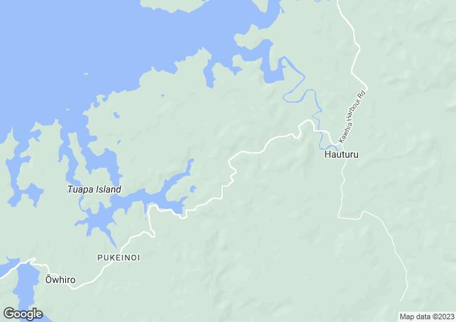 Map for Waikato, Otorohanga