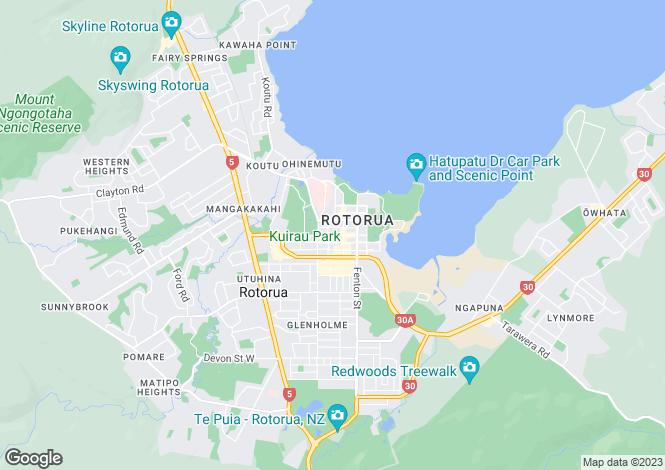 Map for Tavua