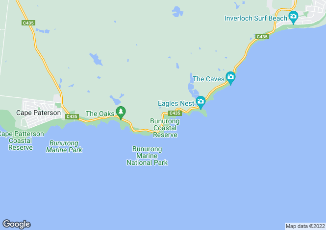 Map for BUSINESS FOR SALE, CAPE PATERSON 3995