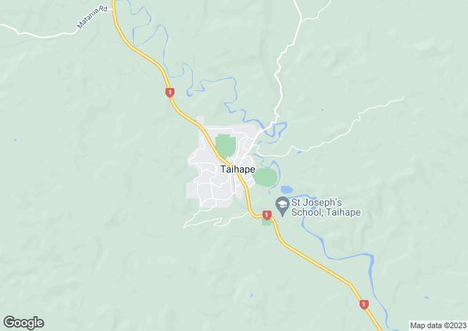 Map for Manawatu-Wanganui