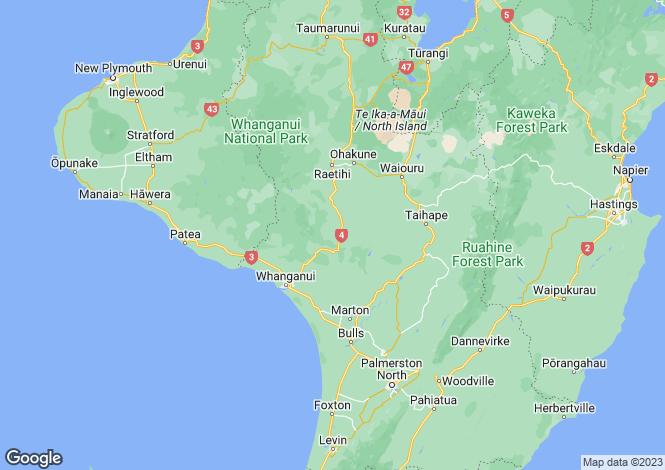 Map for 18/2 Campbell Street, Wanganui 4500