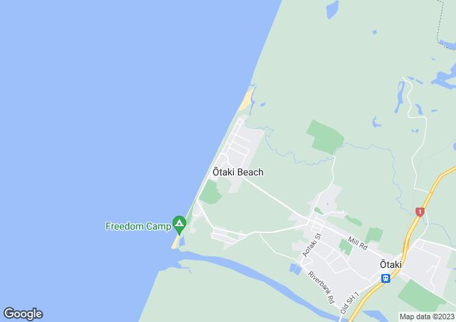 Map for Scott Avenue, Otaki Beach, Wellington, New Zealand