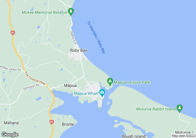 Map for Nelson, Tasman, Tasman