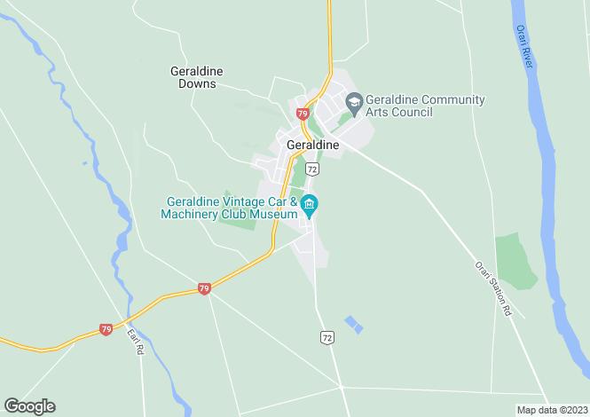 Map for Geraldine 7930