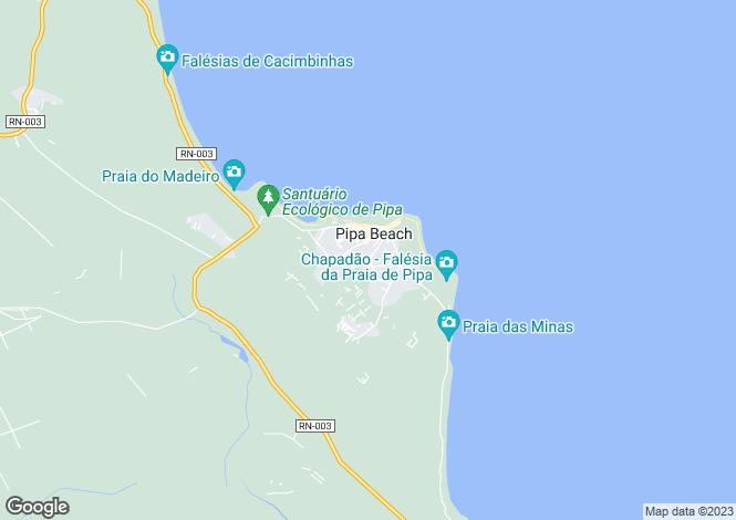 Map for Rio Grande do Norte, Pipa