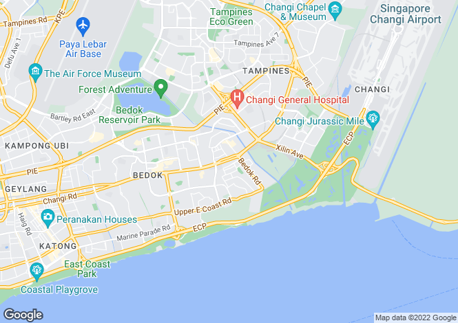Map for Singapore
