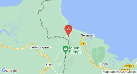 map of Mount Pueh (Indonesia)