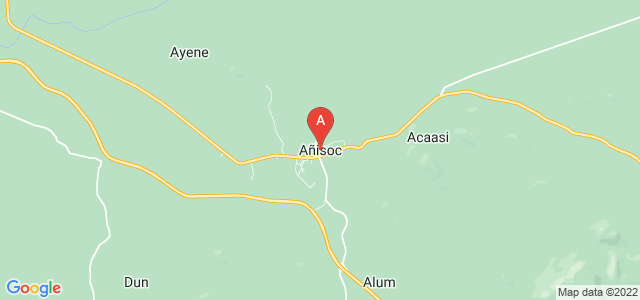 map of Añisoc