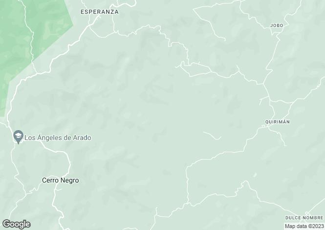 Map for Potrero, Guanacaste, Costa Rica