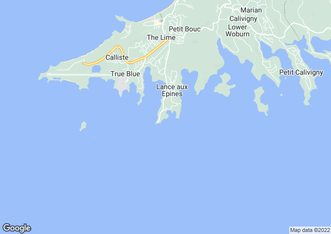 Map for Fushi Villa - Grenada, Lance aux Epines