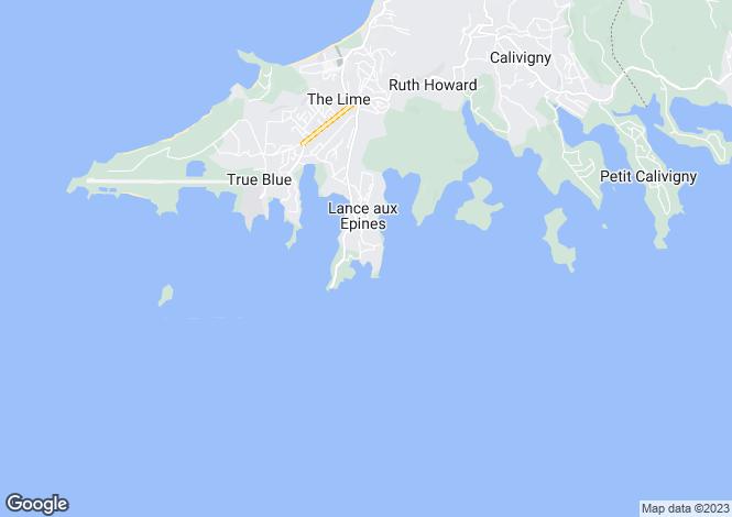 Map for Nutmeg Bay Villa - Grenada, Lance aux Epines