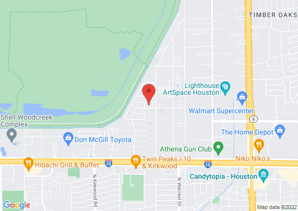 Map of 11200 Timberline Rd, Houston, TX 77043, United States