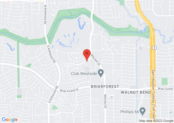 Map of 11315 Lakeside Pl Dr, Houston, TX 77077, USA
