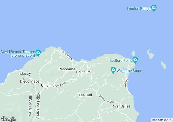 Map for St Patricks