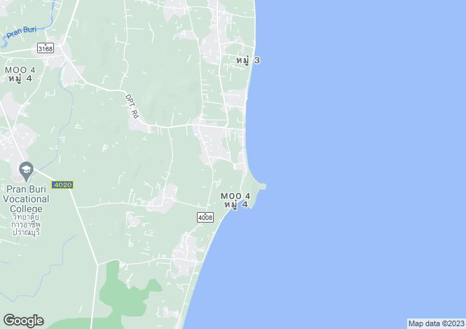 Map for Pran Buri