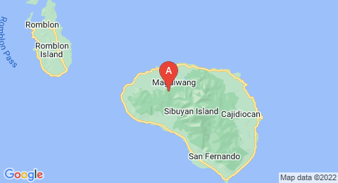 map of Mount Nailog (Philippines)