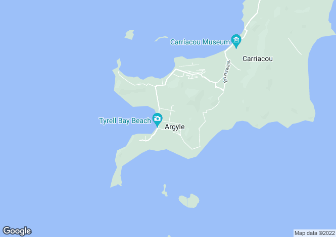 Map for Blue Marlins - Carriacou, Lesterre Bay
