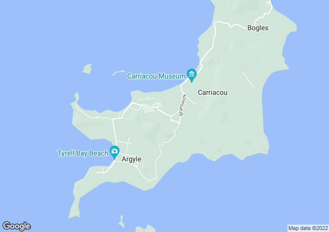 Map for 3 Bed Villa - Carriacou, Lauriston