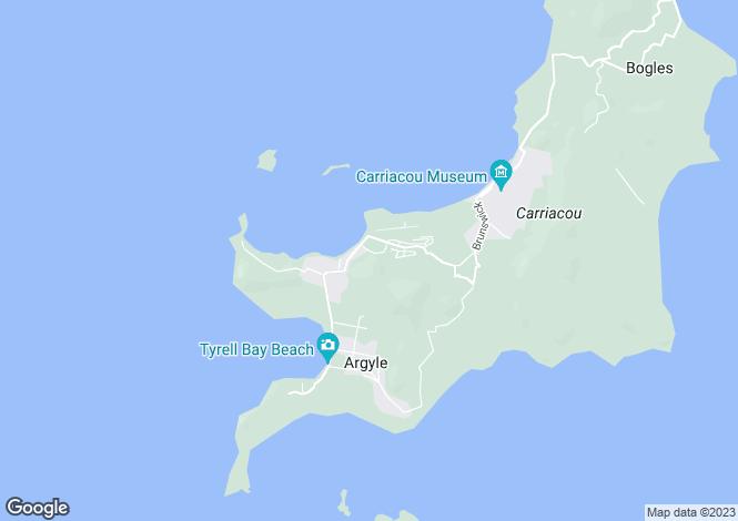 Map for Carriacou Beach Land - Carriacou, Tyrrel Bay
