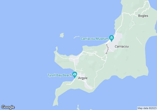 Map for Paradise Beach House - Carriacou, Paradise Beach