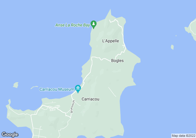 Map for Hummingbird, Bogles