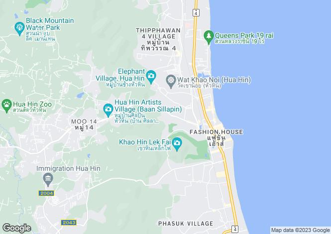 Map for Hua Hin