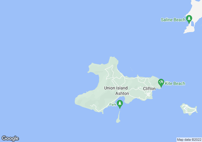 Map for Chatham Bay 3.5 acres headland Lot 46 - Union Island, Union Island
