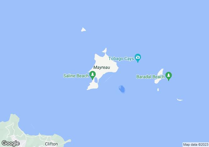 Map for Coral Lagoon Beachfront - Mayreau, Mayreau