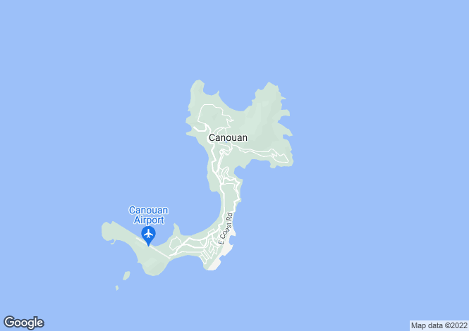 Map for Beachfront Land - Canouan, Canouan