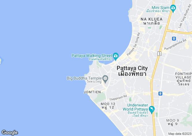 Map for Pattaya