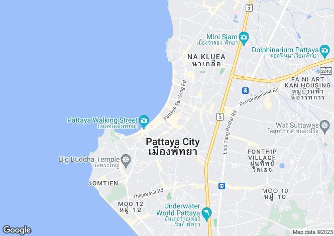 Map for Pattaya City, Pattaya