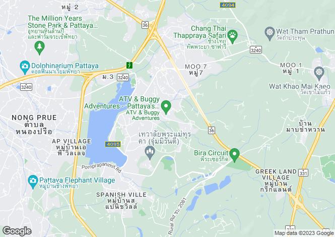 Map for Map Prachan, Pattaya