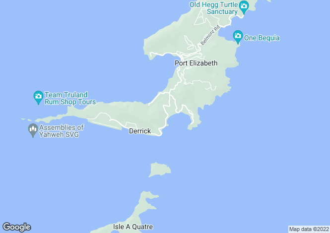 Map for Eden Estate Land  - Bequia, Friendship Bay