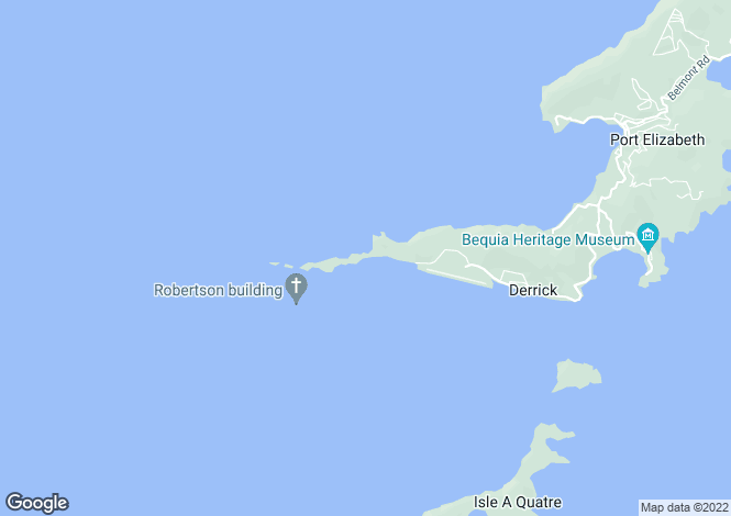 Map for Moonhole Beachfront House - Bequia, Moonhole