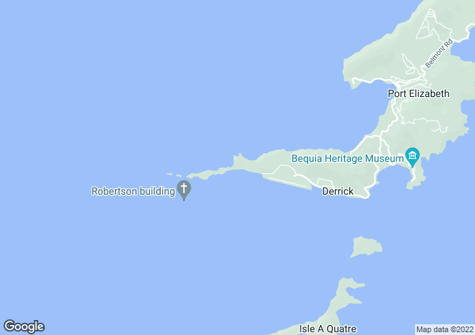 Map for Gingerlily, Bequia, St Vincent and The Grenadines