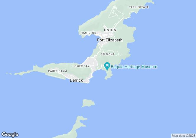 Map for Friendship Bay Beach Land - Bequia, Friendship Bay