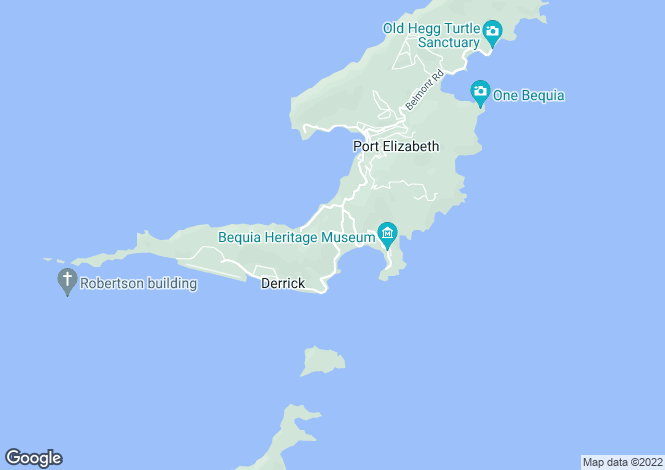 Map for Bequia Tree Tops  - Bequia REDUCED, Friendship Bay