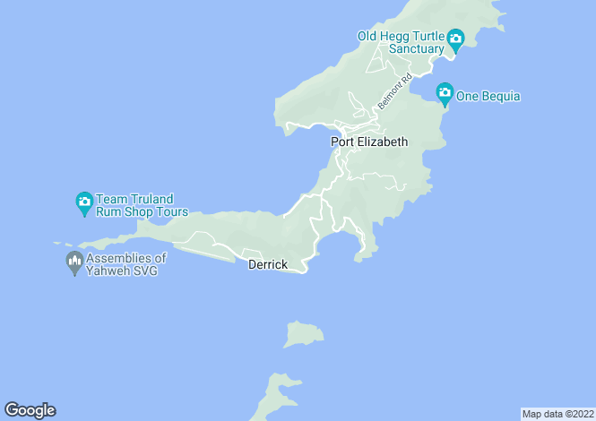 Map for Hazeco Apartments - Bequia, Lower Bay