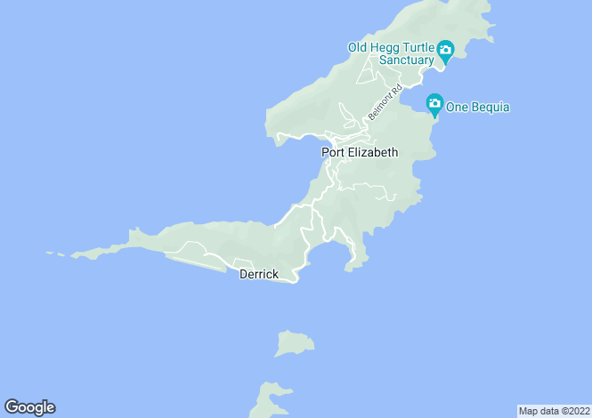Map for Lower Bay land - Bequia, Lower Bay