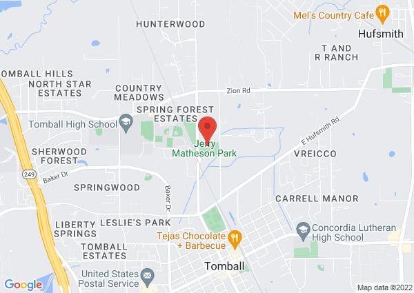 Map of 1240 Ulrich Rd, Tomball, TX 77375, USA