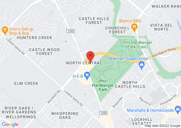 Map of 12500 Northwest Military Highway, San Antonio, TX 78231, USA