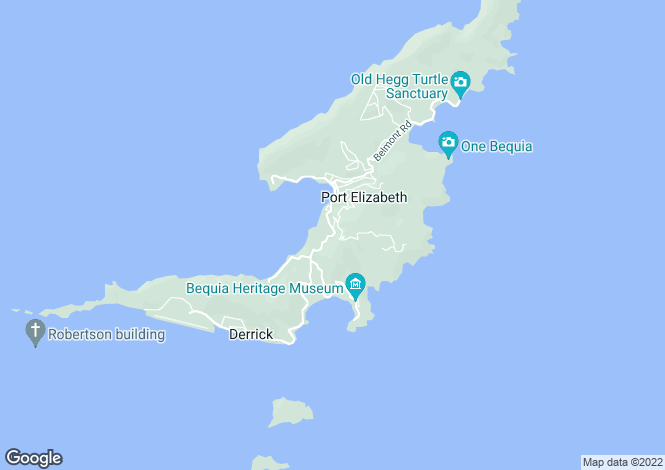 Map for Barefoot Cottage - Bequia, Belmont